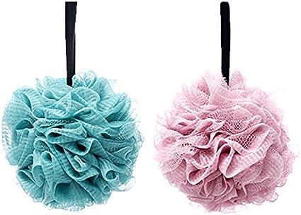 2pcs esponjas de baño suaves,esponja bano,Esponja Exfoliante,Adecuado para mujeres y hombres para exfoliar, limpiar y calmar la piel (60 g/PCS): Amazon.es: Belleza