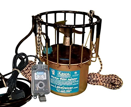 Kasco-Deicer-2400D25-w-C-10-Timer-Thermostat-Controller-12-HP-25-FT-CORD