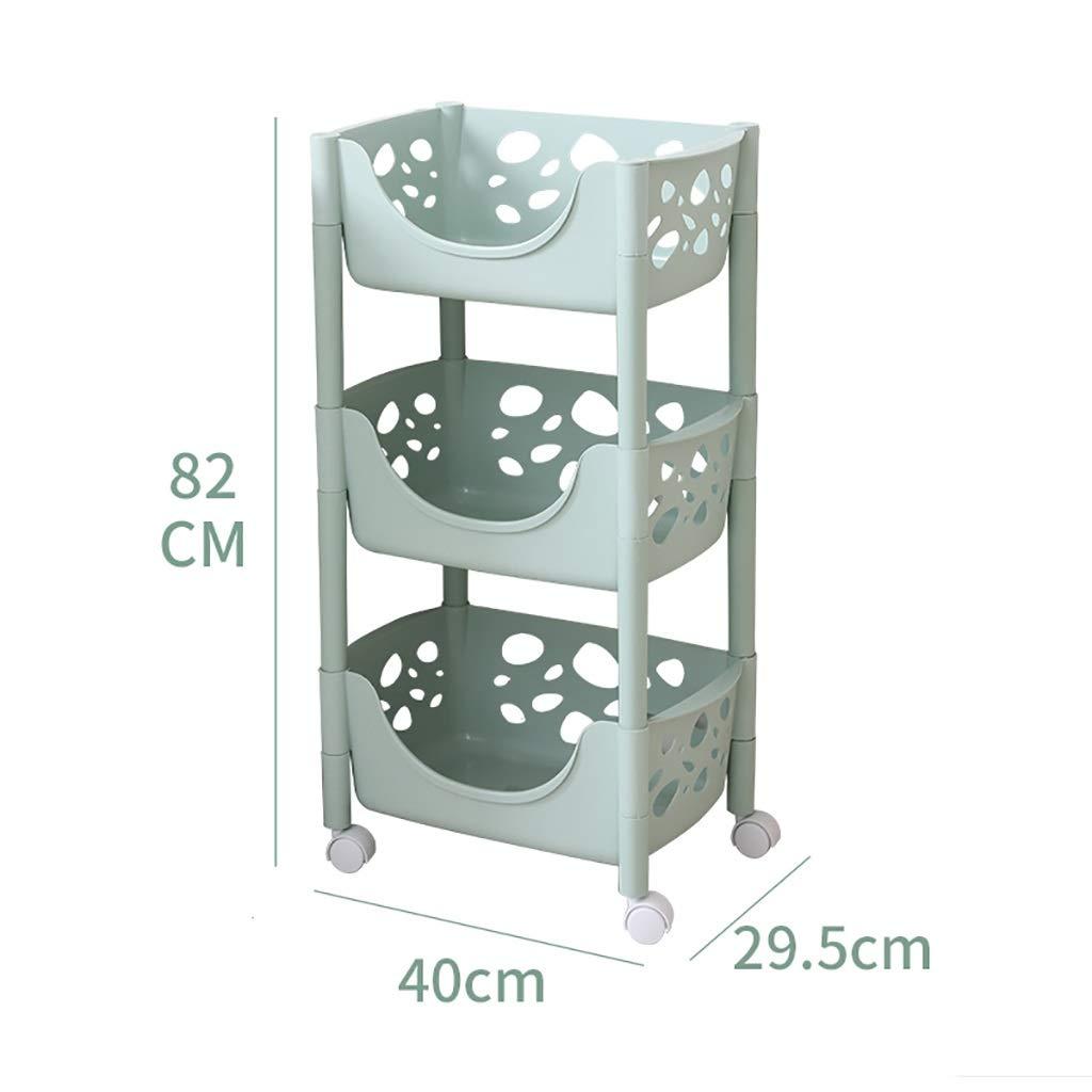 B Kitchen Shelves, Plastic Landing for Kitchen Bathroom Bathroom Bedroom Storage Rack (Size   A)