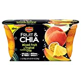 Del Monte Fruit & Chia Snack Cups, Mixed Fruit in Tropical Flavored Chia, 7 oz