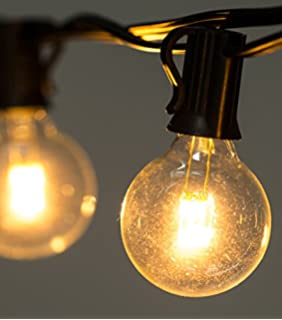 brightown clear globe g40 screw base led light bulbs 15 inch pack of breaking lighting set