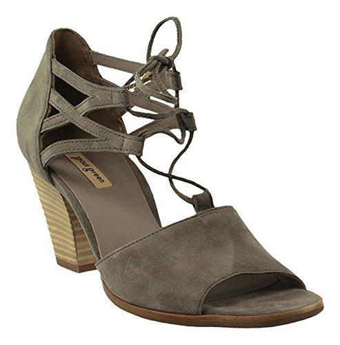 Paul Green - Sandalias de vestir de Piel para mujer gris gris gris