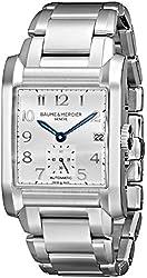 Baume & Mercier Men's BMMOA10047 Hampton Analog Display Swiss Automatic Silver Watch