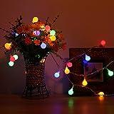DecorNova Globe Lights, Battery Operated Fairy Ball