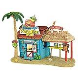 Department 56 Margaritaville Village Paradise Grill Musical Lit Building, Multicolored