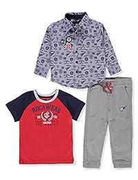 Rocawear Boys' 3-Piece Pants Set Outfit