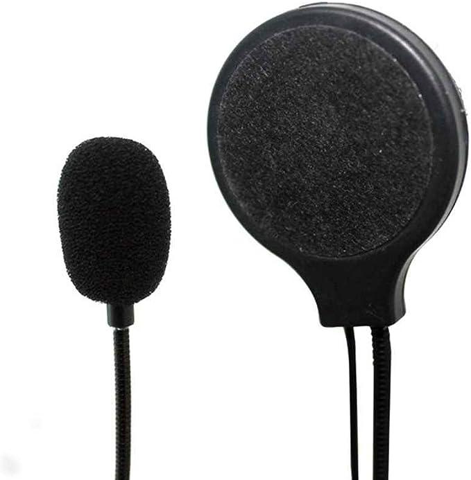 rongweiwang Motorrad-Sturzhelm-Kopfh/örer Stereo-Lautsprecher Motorrad-Sturzhelm-Kopfh/örer-Lautst/ärke Kopfh/örer Motorrad Helm Steuerung Motor Headsets f/ür MP3 MP4 GPS