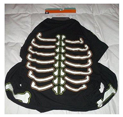 Pet Pajamas - Glow in the Dark Skeleton (Dalmatian Costume Target)