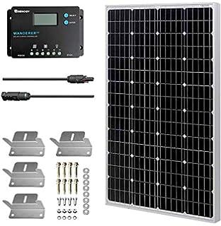 Betop-camp 100W 12V Panel Solar Kit-100W Panel Solar + 10A ...
