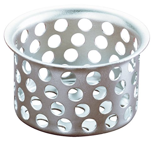 Plumb Pak PP820-37 Strainer Basket-Basin Sink 1-inch, 1 Pack, Chrome