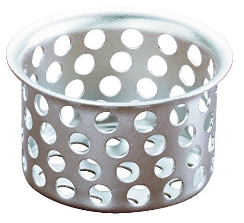 (Plumb Pak PP820-37 Strainer Basket-Basin Sink 1-inch, 1 Pack, Chrome )