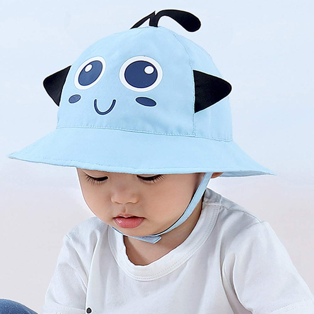 ff6e72c05 Amazon.com: Bonvince Sun Protection Hat for Kids Toddler Boys Girls ...