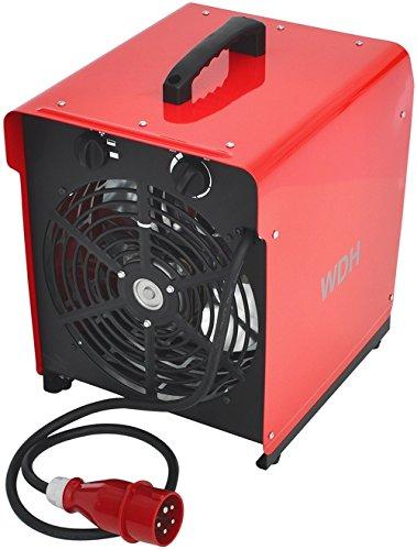 Aktobis Heizgebläse Bauheizer Heizlüfter Elektroheizer WDH-BGP09 9 kW