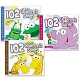102 Children's Songs 3 CD Set