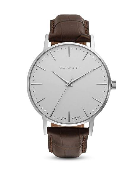 Gant Reloj Analógico para Unisex Adultos de Cuarzo con Correa en Cuero GT081001