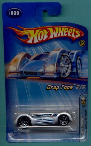 Mattel Hot Wheels 2005 First Editions 1:64 Scale Realistix Silver Airy 8 Motorcycle Die Cast Car #004 ()