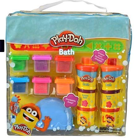 Play-Doh Bath Fun in the Tub Bath Pack 6 Moldable Soaps!