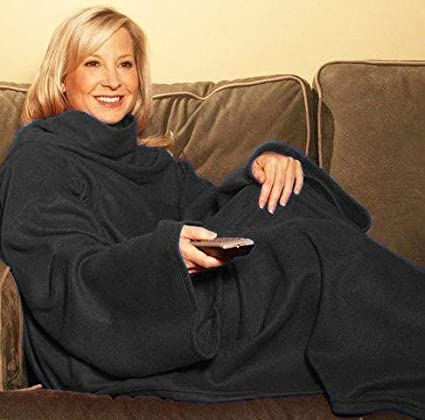 Amazon.com  Snuggle Fleece Blanket Cozy Wrap Warm Throw Travel Plush ... a30f32ad5