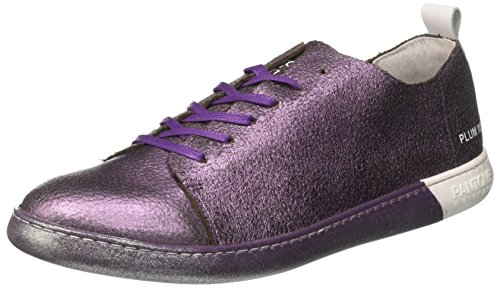 Pantone Tokyo, Sneaker a Collo Alto Unisex-Adulto Viola (Plum Wine)