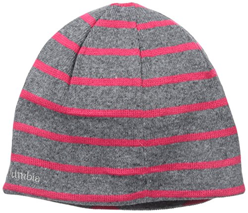 Columbia Women's Urbanization Mix Beanie, Grey Heather/Dot, One (Reversible Womens Beanie)