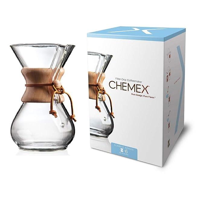 Amazon.com: Cafetera de vidrio Chemex, Classic, Transparente ...
