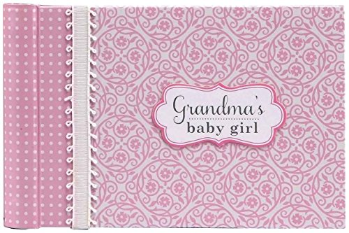 - C.R. Gibson Pink 'Grandma's Baby Girl' Photobook for Grandparents, 20 pgs, 4.5'' H x 7'' L