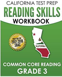 Amazon california test prep sbac practice book english language california test prep reading skills workbook common core reading grade 3 preparation for the smarter fandeluxe Gallery