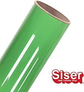 "Siser EasyWeed HTV 11.8"" x 2ft Roll - Iron on Heat Transfer Vinyl (Green Apple)"