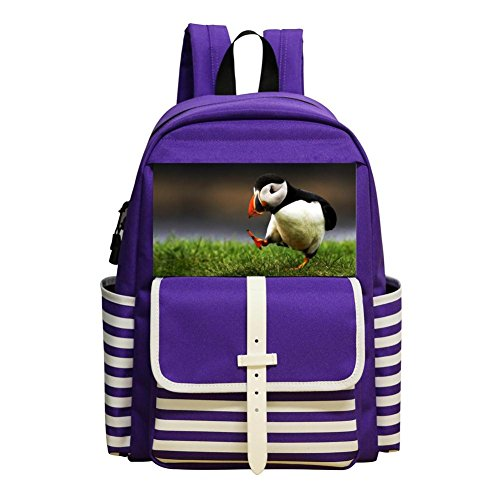 Original Printed Small Puffin Racksacks For Boys