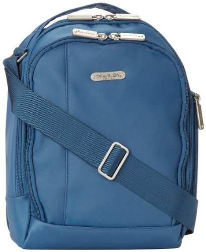 Travelon Boarding Bag, Steel Blue, One Size