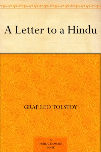 Amazon.com: A Letter to a Hindu eBook: Graf Leo Tolstoy: Kindle Store