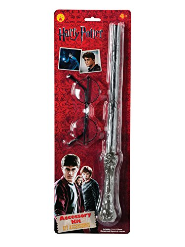 Rubie's Harry Potter Accessories Kit (packaging may vary), One Size, Multicolor -