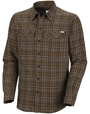 Men's Silver Ridge Plaid Long Sleeve Shirt