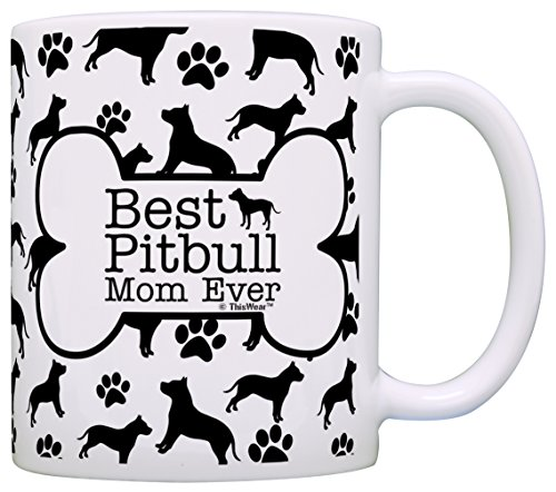 Owner Gifts Pitbull Pattern Coffee