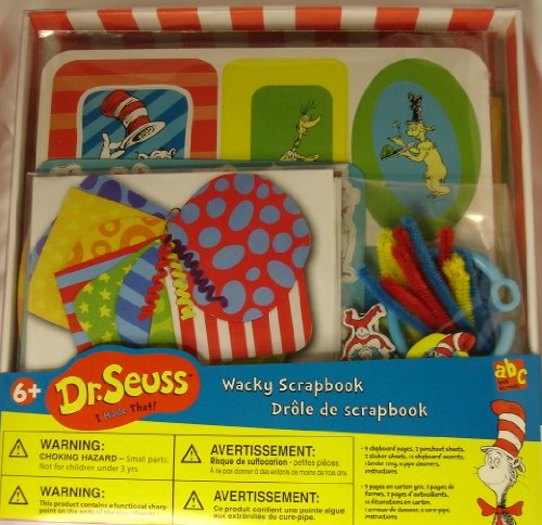 Dr. Seuss Wacky Scrapbook Kit (For ages 6 +) (Kit Colorbok Scrapbook)