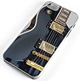 iPhone Case Fits Apple iPhone 8 PLUS 8+ Black Electric Guitar Solo Getting Band Back Together White Rubber