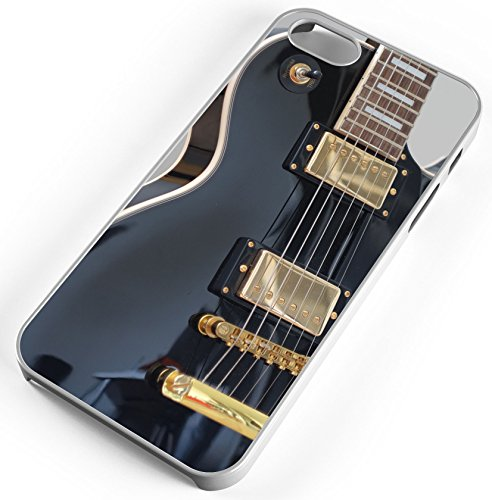 iPhone Case Fits Apple iPhone 7 PLUS 7+ Black Electric Guitar Solo Getting Band Back Together Clear Plastic by TYD Designs
