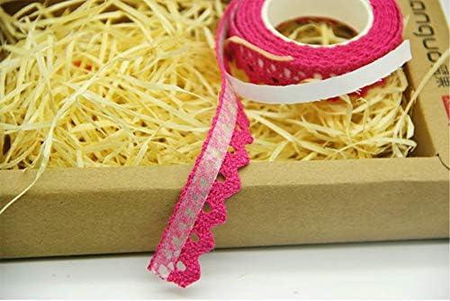 Ruban d/écoratif en dentelle bricol/ée /à la main en tissu de style idyllique