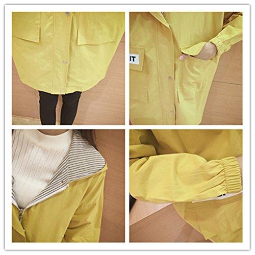 Clivia - Abrigo - universidad - para mujer amarillo