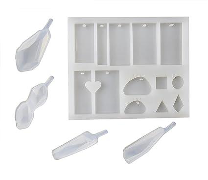 tomkity 16 modelos molde de silicona moho de colgante colgantes bola de resina Instrumentos moldes resina