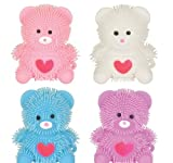 2.75'' HEART BEAR PUFFER, Case of 288