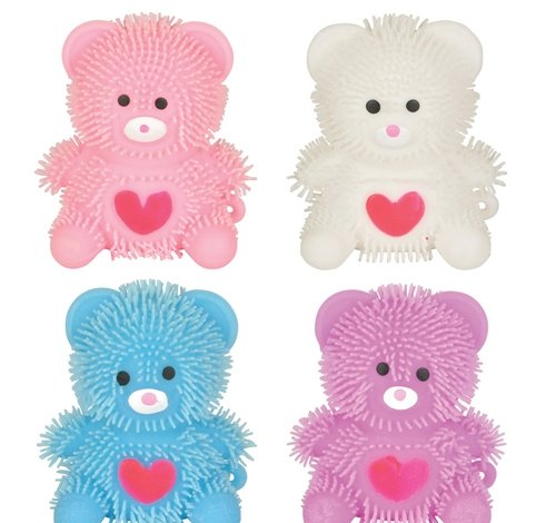 2.75'' HEART BEAR PUFFER, Case of 288 by DollarItemDirect