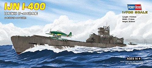 Hobby Boss Japanese I-400 Class Submarine Boat Model Building Kit