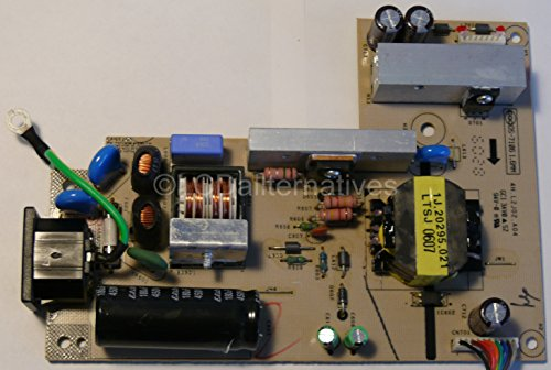 Dell 2007WFPb LCD Monitor Replacement Capacitors, for Power Supply and Inverter, Boards not Included.