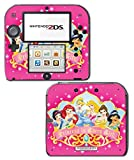 Princess Friends Pink Cinderella Snow White Ariel Jasmine Belle Sleeping Beauty Princess in Every Girl Video Game Vinyl Decal Skin Sticker Cover for Nintendo 2DS System Console