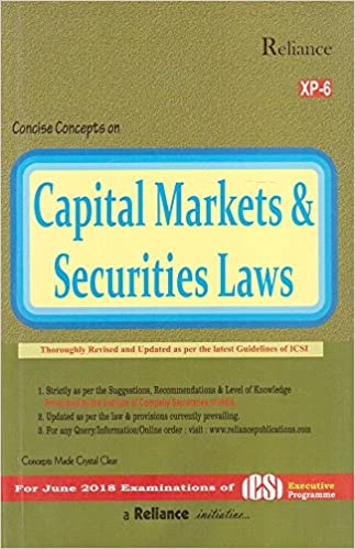 Buy Reliance Publication's Capital Market & Securities Laws