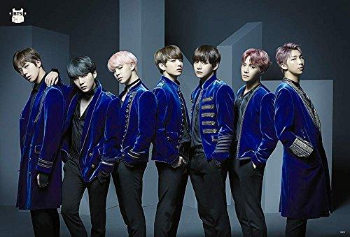 Music Group Poster - BTS (방탄소년단) Bangtan Boys 2017 Kpop Korea Boy Band Group Music Poster Size 24x35 Inch O-66204