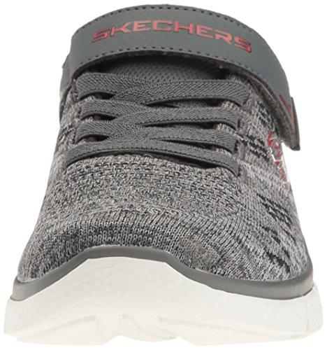 Skechers Equalizer 2.0-Point Keeper, Zapatillas para Niños Grey / Black