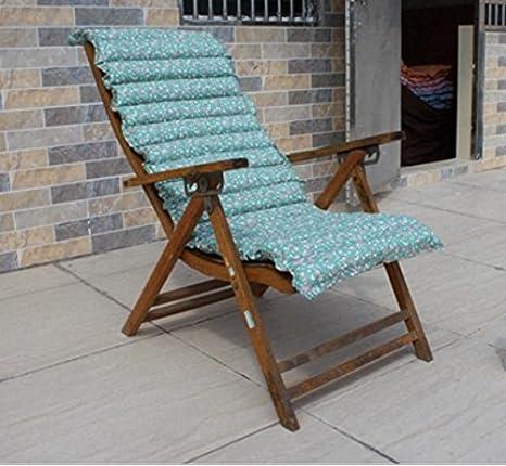 menzogne Nap Pad Cojines Bambú silla plegable acolchada a ...