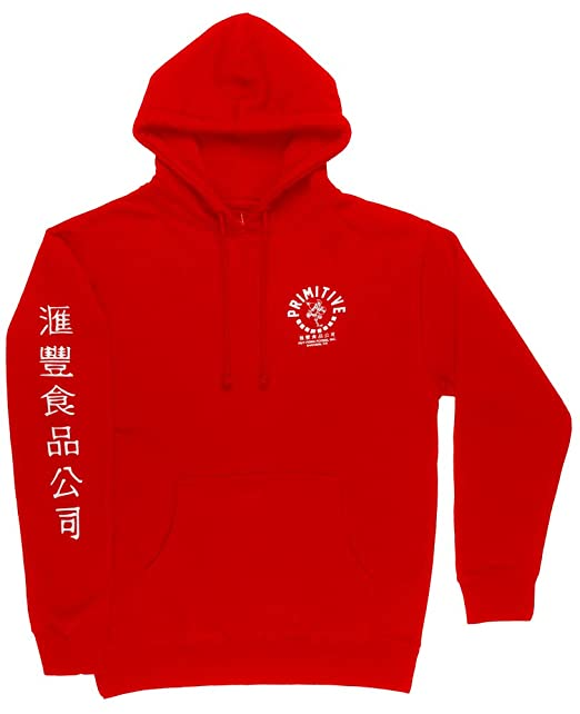 3c71b8dad Primitive x Sriracha Rooster Hoodie Sweatshirt Mens Huy Fong Foods Red Large